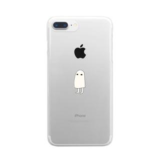 メジェドさま Clear smartphone cases