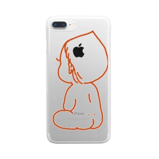 赤ちゃん Clear smartphone cases