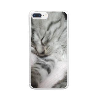 可愛い姫ちゃんグッズ Clear smartphone cases