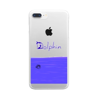 Dolphin Clear smartphone cases