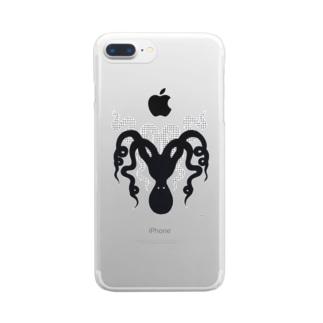 Octupus Clear smartphone cases
