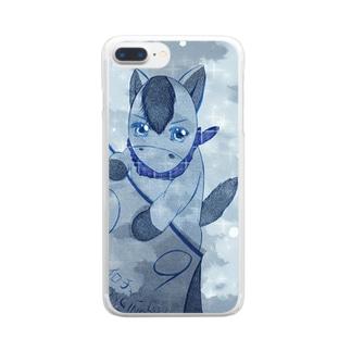 ちゃいろちゃん Clear smartphone cases