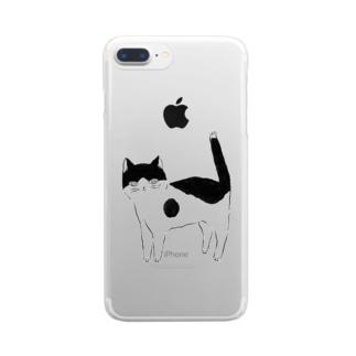 猫 Clear smartphone cases