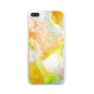 曇 Clear smartphone cases