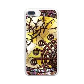 観覧車 Clear smartphone cases