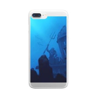 海底 Clear smartphone cases
