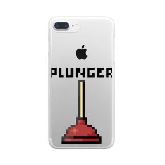 ラバーカップ Clear smartphone cases