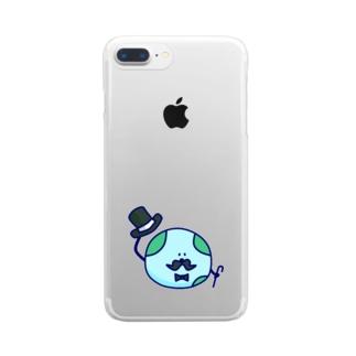 トゥインクル★プラネッツ(ごきげんよう:ボク) Clear smartphone cases