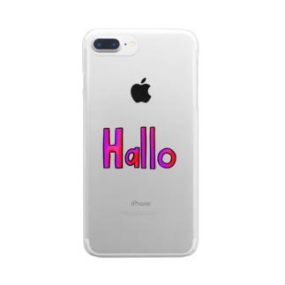 Hallo Clear smartphone cases