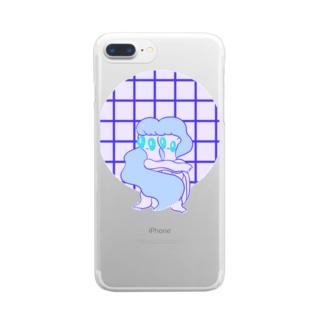 HISOMU FUTATSU Clear smartphone cases