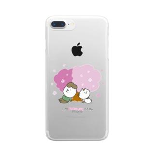 Der Frühling ist da: 春だね Clear smartphone cases