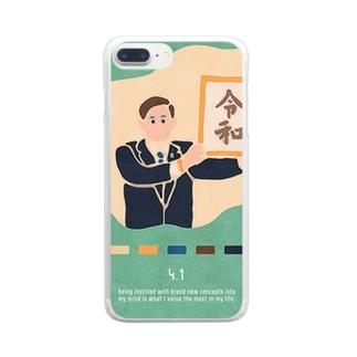 【2019.04.01】新井リオの英語日記グッズ Clear smartphone cases