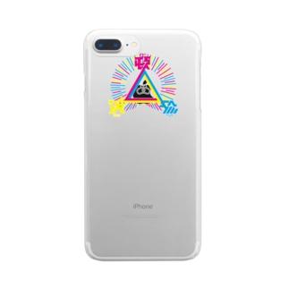 頓珍漢 Clear smartphone cases