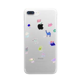 アラビア語単語シリーズ Clear smartphone cases