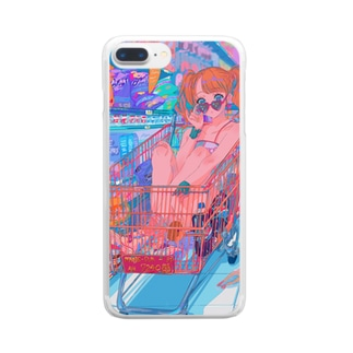 GO GO SHOPPING Clear smartphone cases