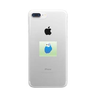 エクセルあおくん Clear smartphone cases