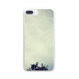 ほんのすこし Clear smartphone cases
