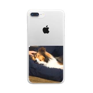 ルチアーノ三世は飼い主がすごく好き Clear smartphone cases