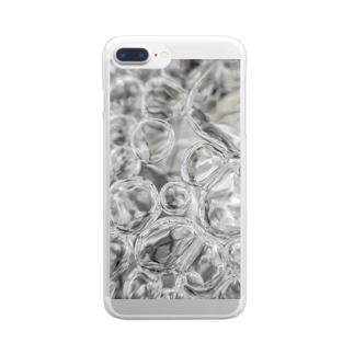 あわあわ○ Clear smartphone cases