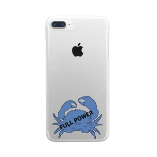 full power Clear smartphone cases
