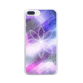 流星 Clear smartphone cases