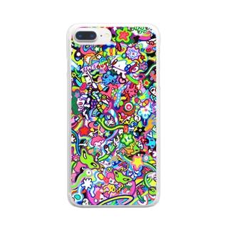 リリース Clear smartphone cases
