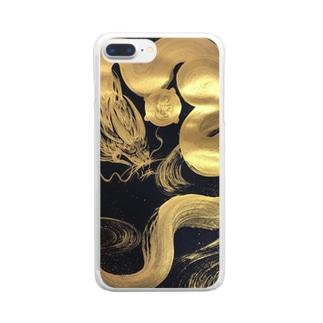 神の蔵 Clear smartphone cases
