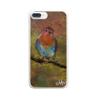 ムラナギ/ハローロビン Clear smartphone cases