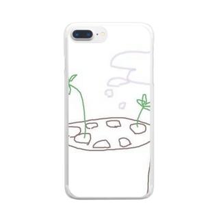 RENKONちゃん Clear smartphone cases