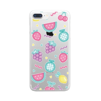 fruits iPhone case Clear smartphone cases