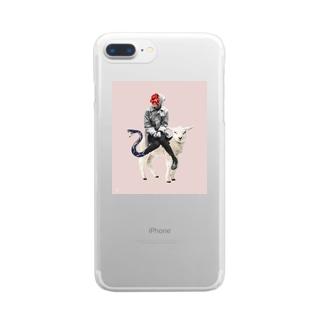 Saints Clear smartphone cases