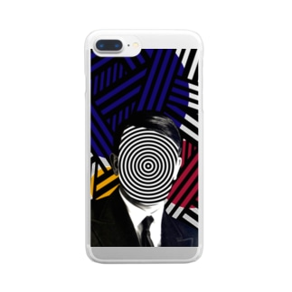 Dazzle Clear smartphone cases