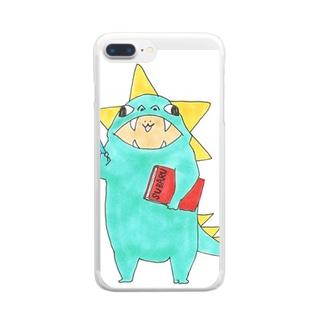 すばりんグッズ Clear smartphone cases