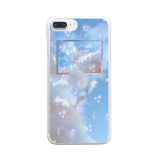 春の風はシューゲイザー2019 Clear smartphone cases