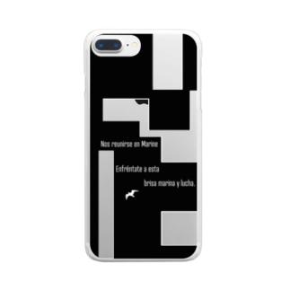 Nos reunimos en MARINES Clear smartphone cases