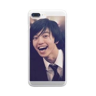 あっぷるささき君 Clear smartphone cases