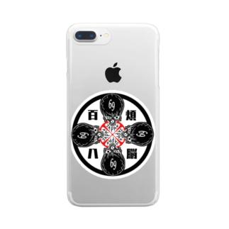 髑髏deROCK  Clear smartphone cases