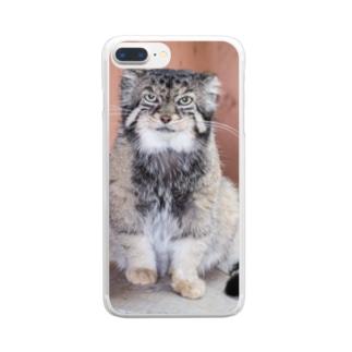 マヌルネコ Clear smartphone cases