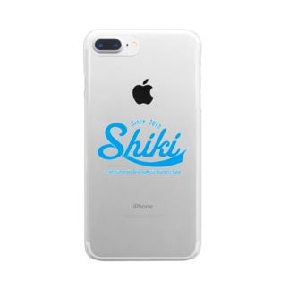 Shiki ロゴ  Clear smartphone cases