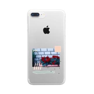 シクラメン Clear smartphone cases