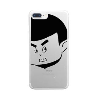 ごりくんのお友達 Clear smartphone cases