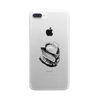 うまいケーキ Clear smartphone cases