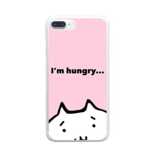 スマホケース ピンク Clear smartphone cases