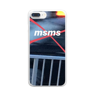MSMS iphone case Clear smartphone cases
