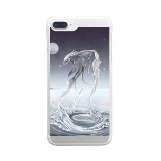 おさかな Clear smartphone cases