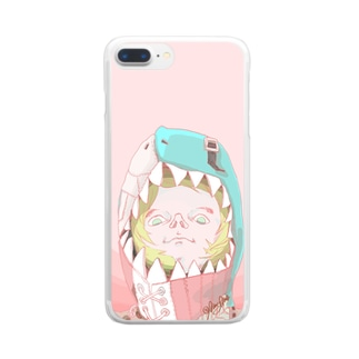 Shark Boy  Clear smartphone cases