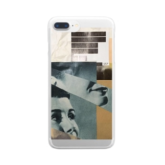 collage Clear smartphone cases