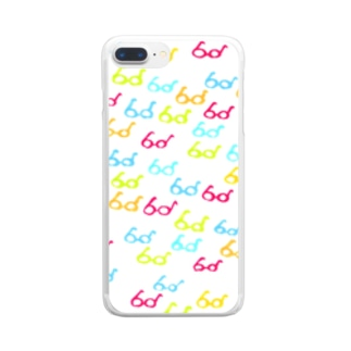 メガネ Clear smartphone cases