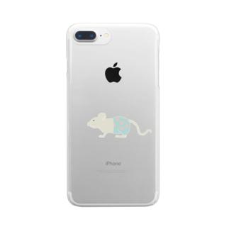 水玉パンツはいてるっチュウの Clear Smartphone Case