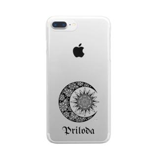 pri logo Clear smartphone cases